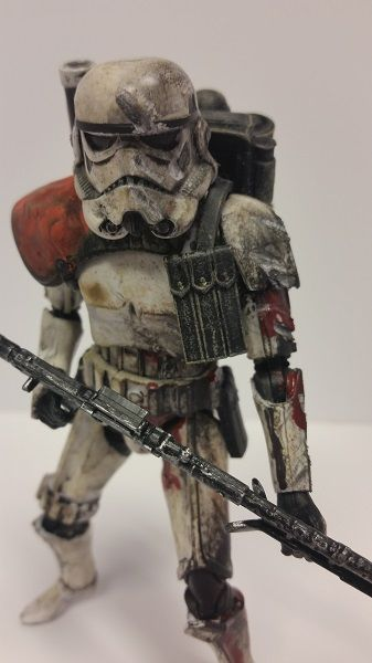 Battle Worn Sand Trooper! (Star Wars) Custom Action Figure