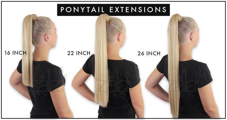 Keratin Ponytail Clip In Hair Extensions 16 22 26 Inch 150gr