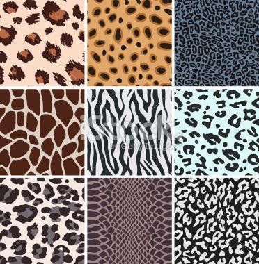 Animal Skin Pattern Design Animal Skin Seamless Pattern Vector Animal Print