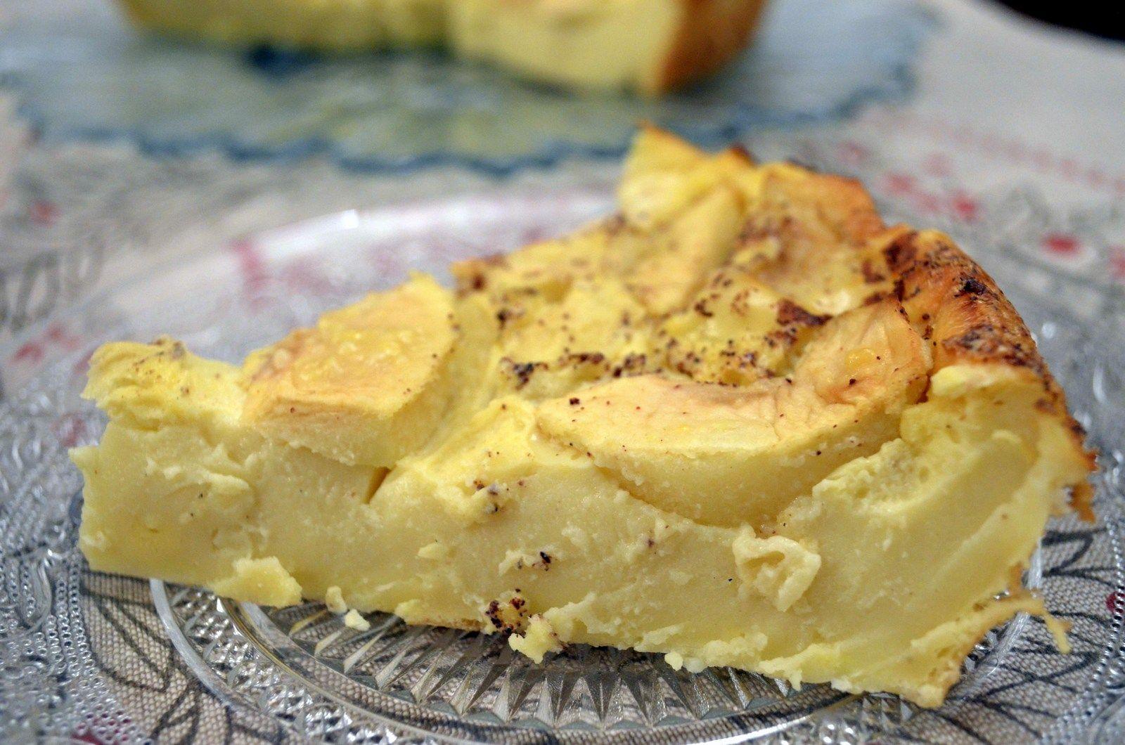 La matafan aux pommes fa on laurent mariotte gateaux pinterest desserts flan et tart - Laurent mariotte cuisine tv ...