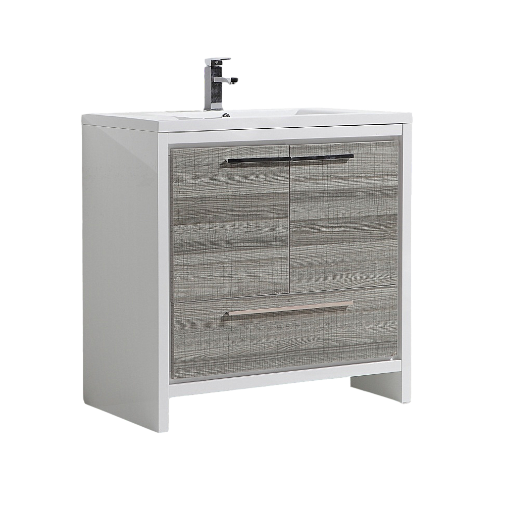 Copeland Free Standing Modern Bathroom Vanity 36 High Gloss