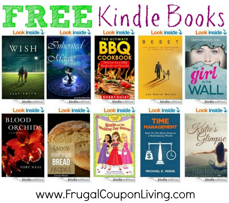 FREE Kindle Books 6/2 Read on Any Tablet, PC, Kindle and