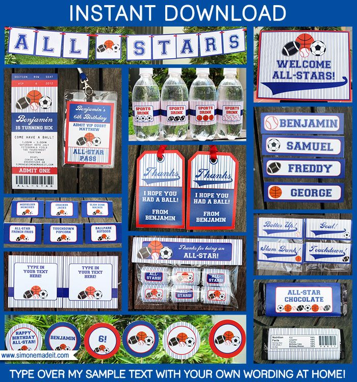 All Star Ticket Invitations  Ticket Invitation Decoration And