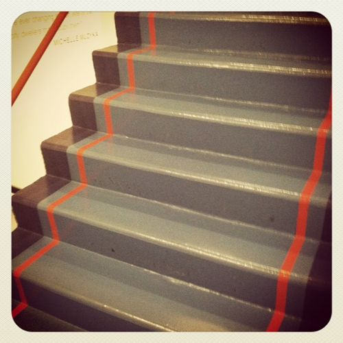 Painted Stairs At The D Building NYC Magpiebyhaskellharris