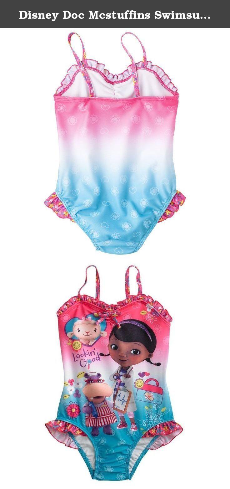 90a971e4d0eac Disney Doc Mcstuffins Swimsuit Bathing Suit Toddler Girl Size 4T. Disney Doc  Mcstuffins Swimsuit Bathing Suit Toddler Girl Size 4T.