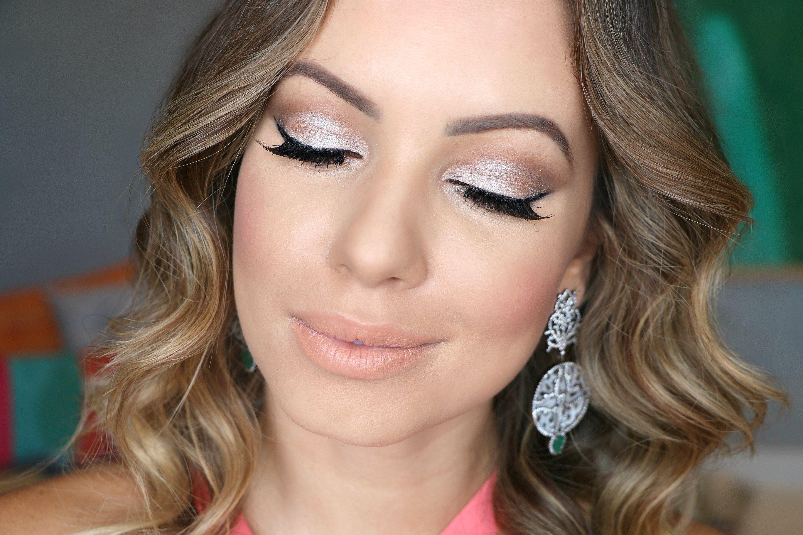 10 maquiagens para combinar com vestido turquesa | Idéias de