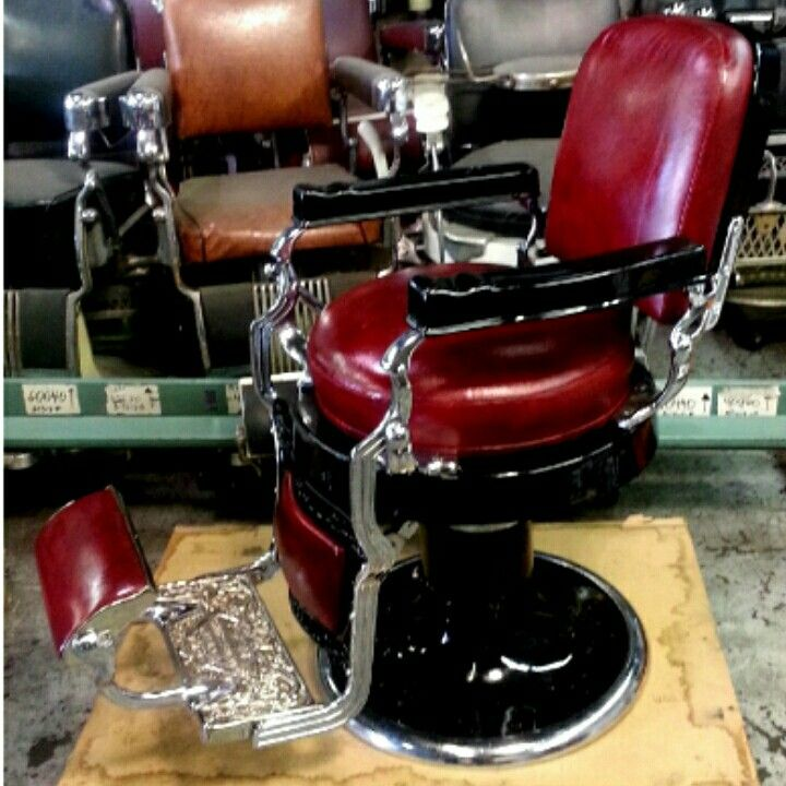 Avail Chairs Antique Barber Chair Restoration Metal