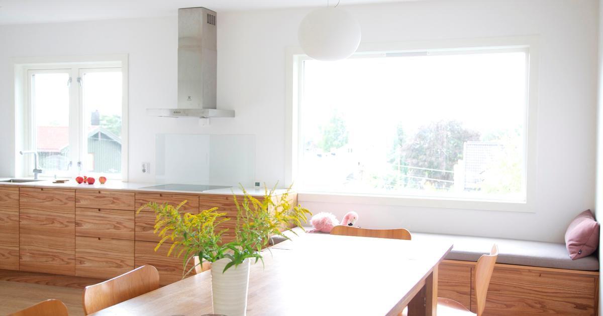 For Oss På Hamran Er Kjøkkenet Det Viktigste Rommet I Huset, Og Vi ... Designer Huser Innen