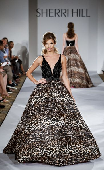 0ae7cd51d6 Sherri Hill - Runway - Mercedes-Benz Fashion Week Spring 2015