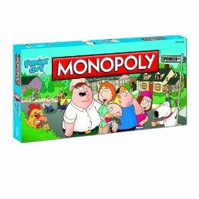 Monopoly Family Guy 30 05 Monopoly Family Guy Game Cartoon Tv Shows