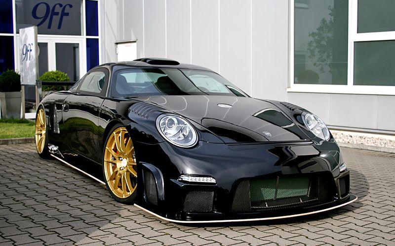 2009 9ff GT9R Porsche Drift