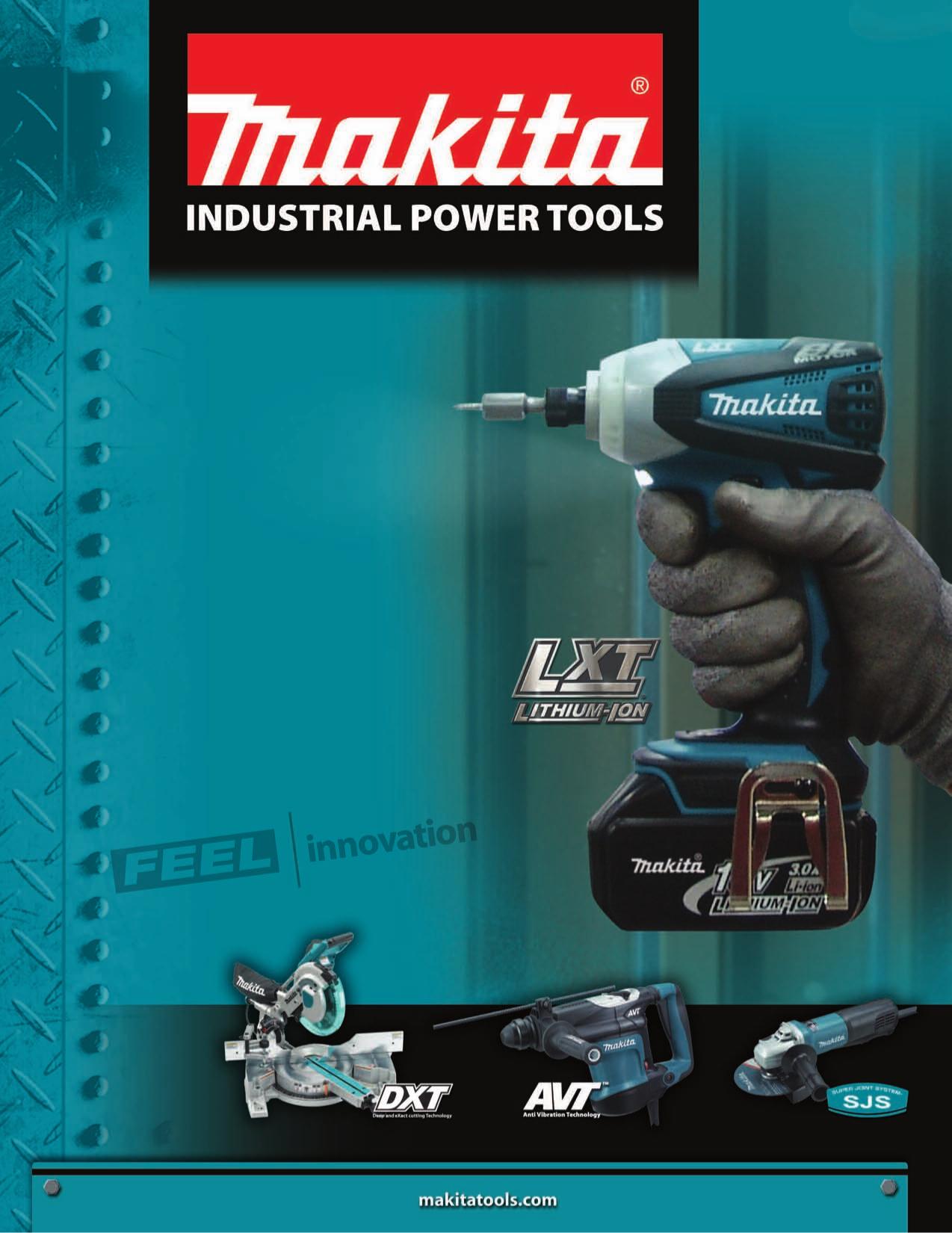Katalog Makita En Pdf 0 Png 1274 1650 Tool Poster Industrial Power Tools Makita