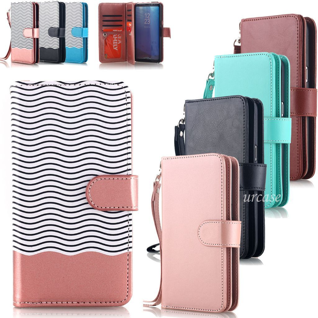 pretty nice a5123 b1225 iPhone 8 Plus, 8, 7 Plus, 7 - Handy Removable Wallet Wristlet Case ...