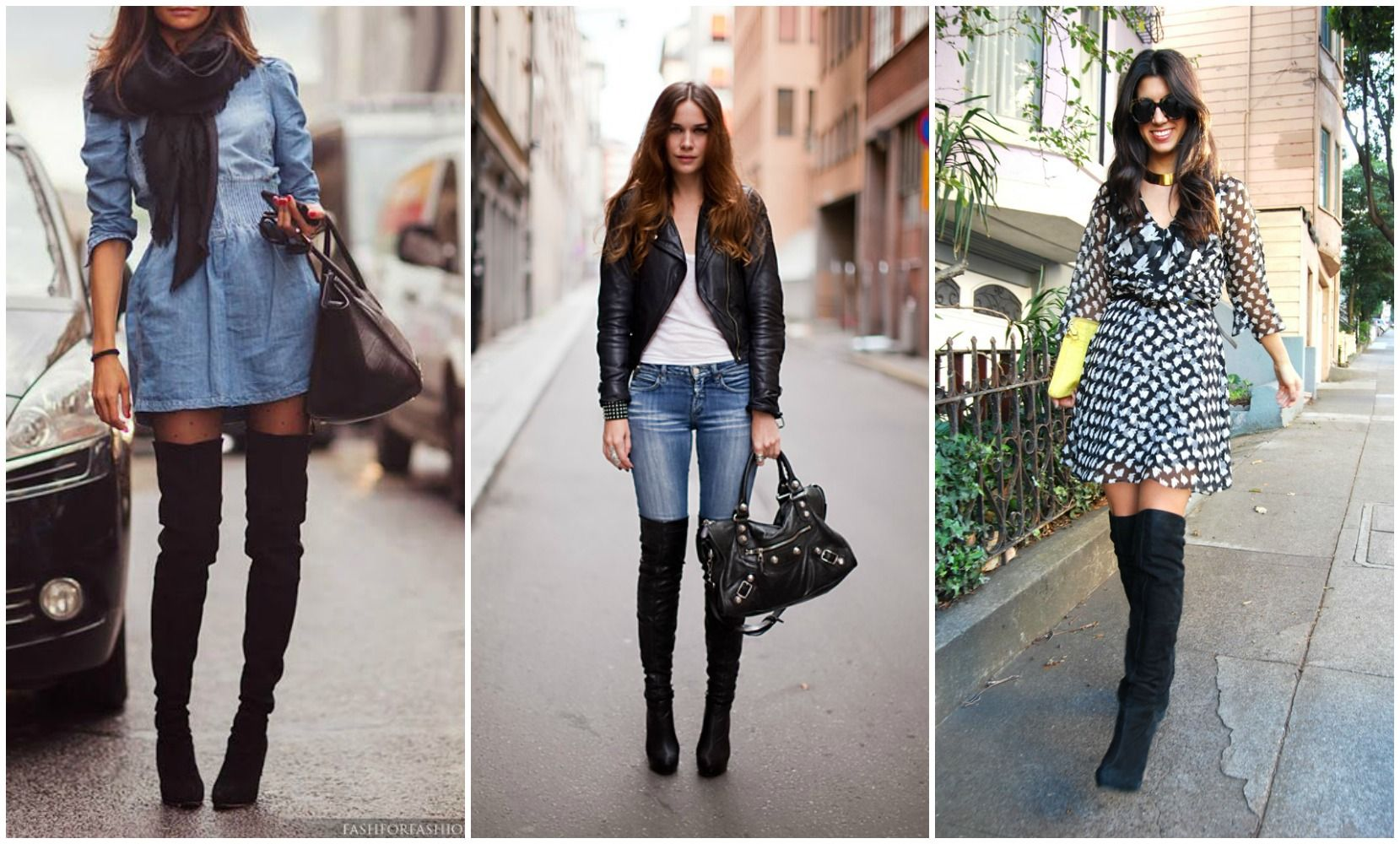 Hot Fall Fashion-Thigh High boots and how to wear them! | What's ...