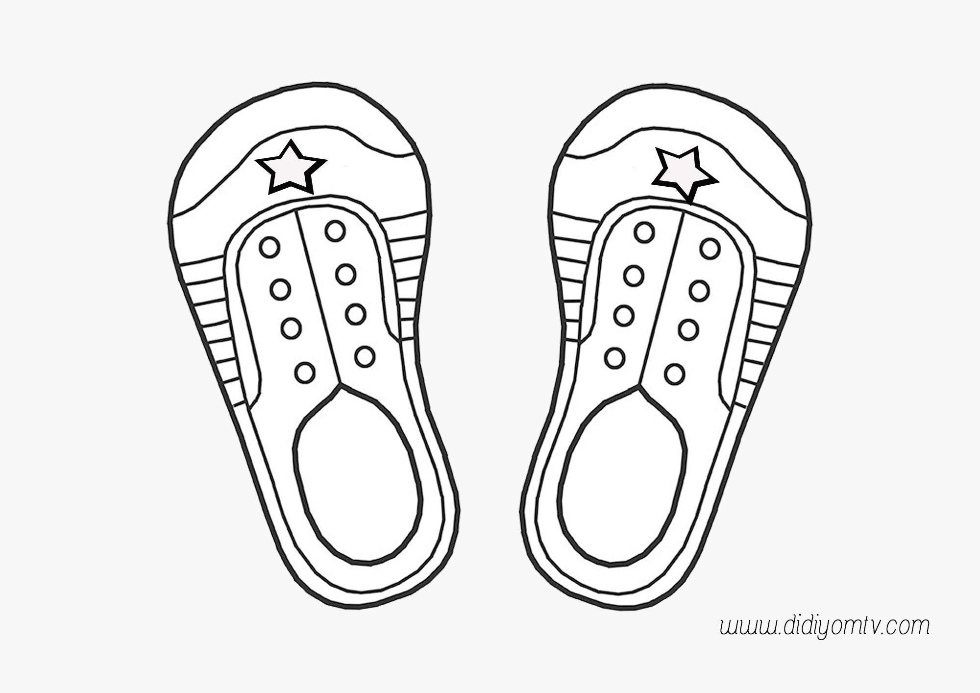 Ayakkabimi Bagliyorum Ayakkabi Bagcigi Etkinligi Boyama