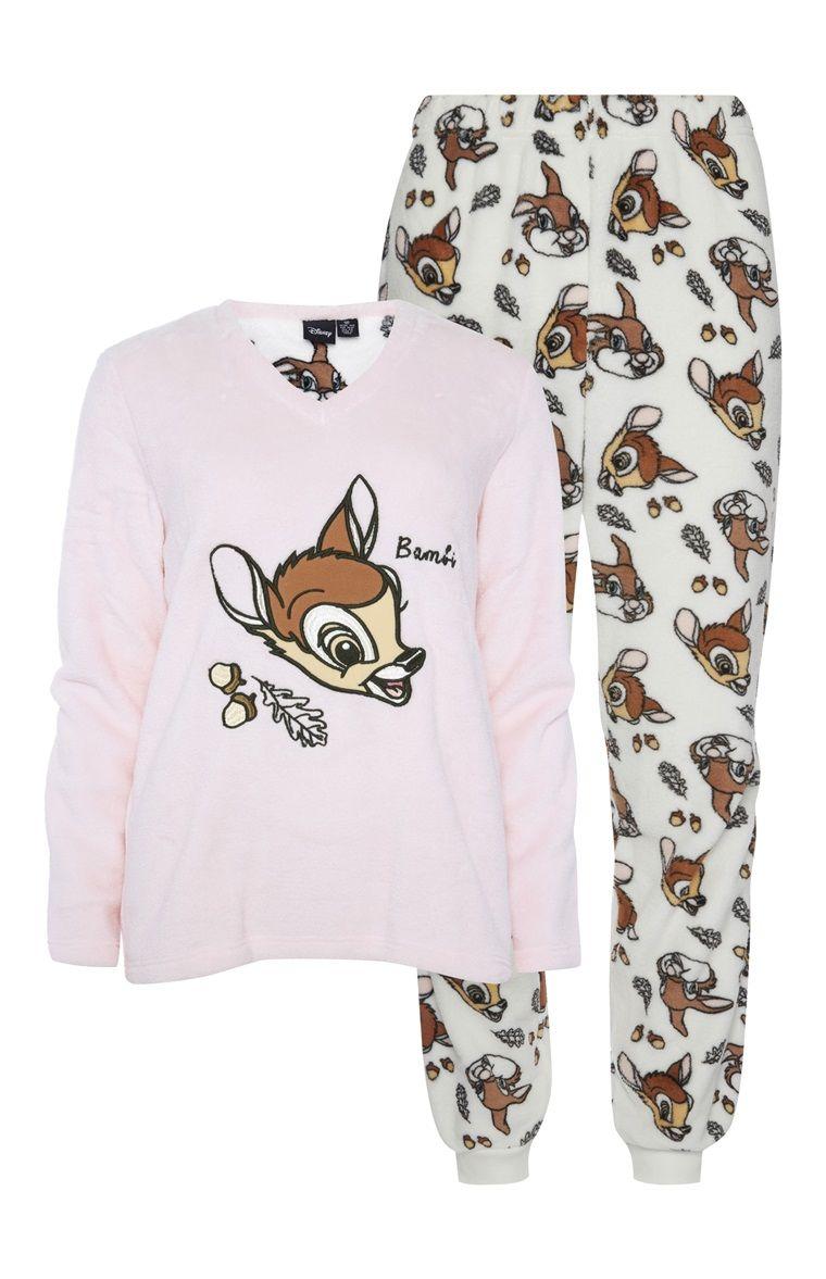 792823081 Primark - Disney pyjamaset met Bambi Pijamas De Dama, Fiesta De Pijamas, Pijamas  Para