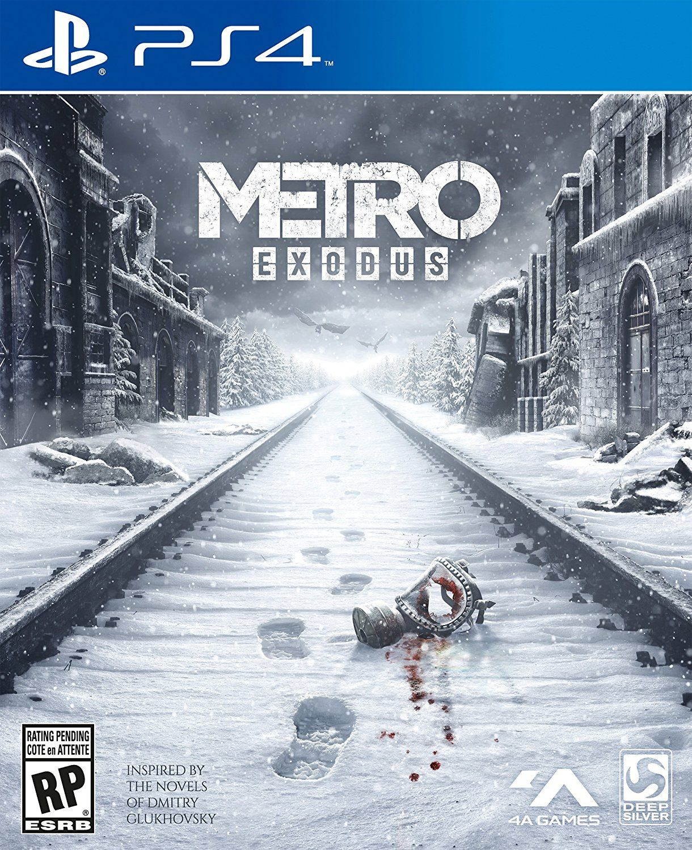 Metro Exodus PlayStation 4 Video Games