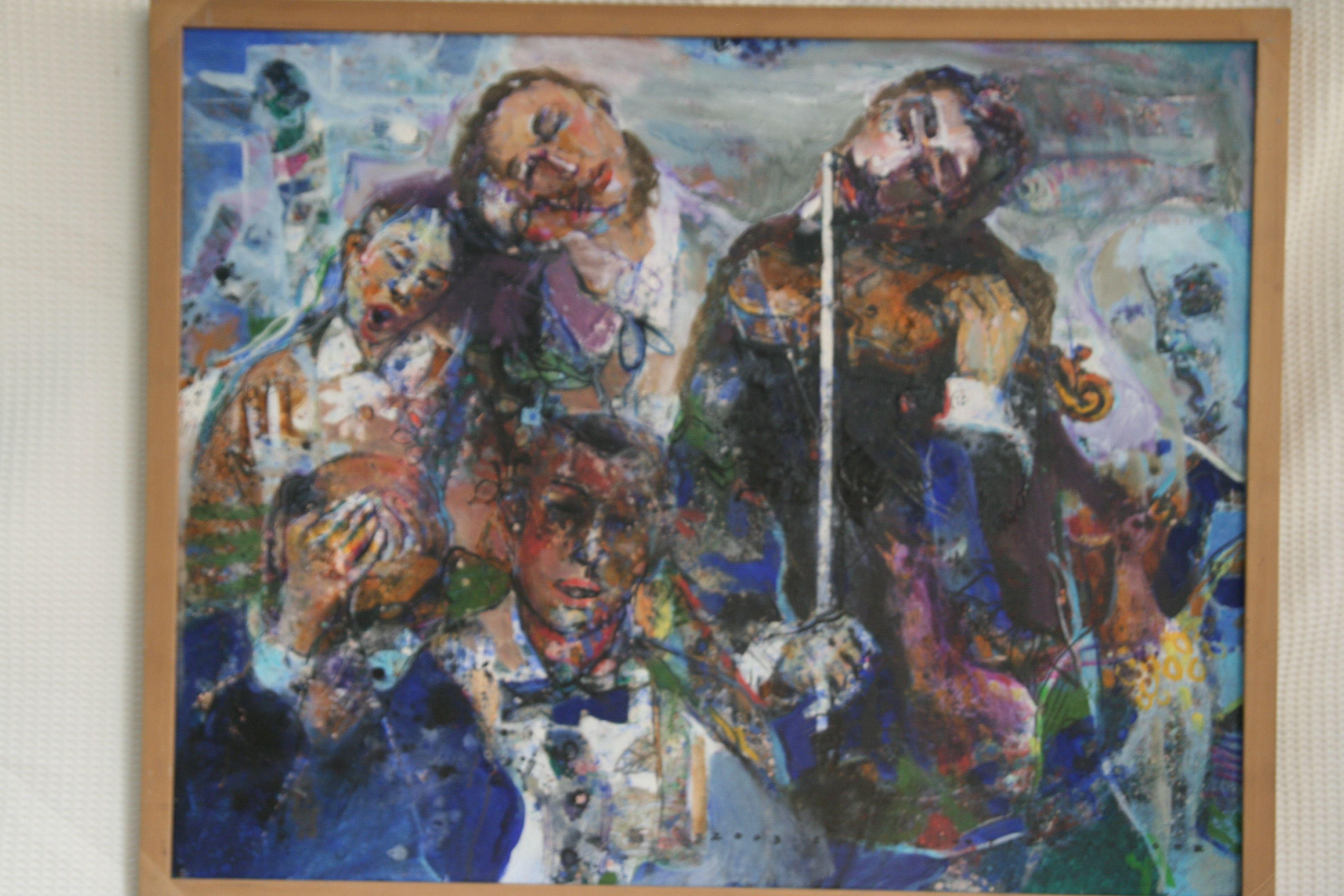 20호?oil on canvas.슬픔을 노래한 그림