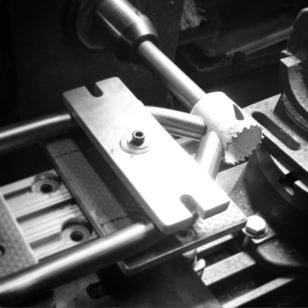 Mitering chain stays. #process #odditycycles | Bici | Pinterest ...