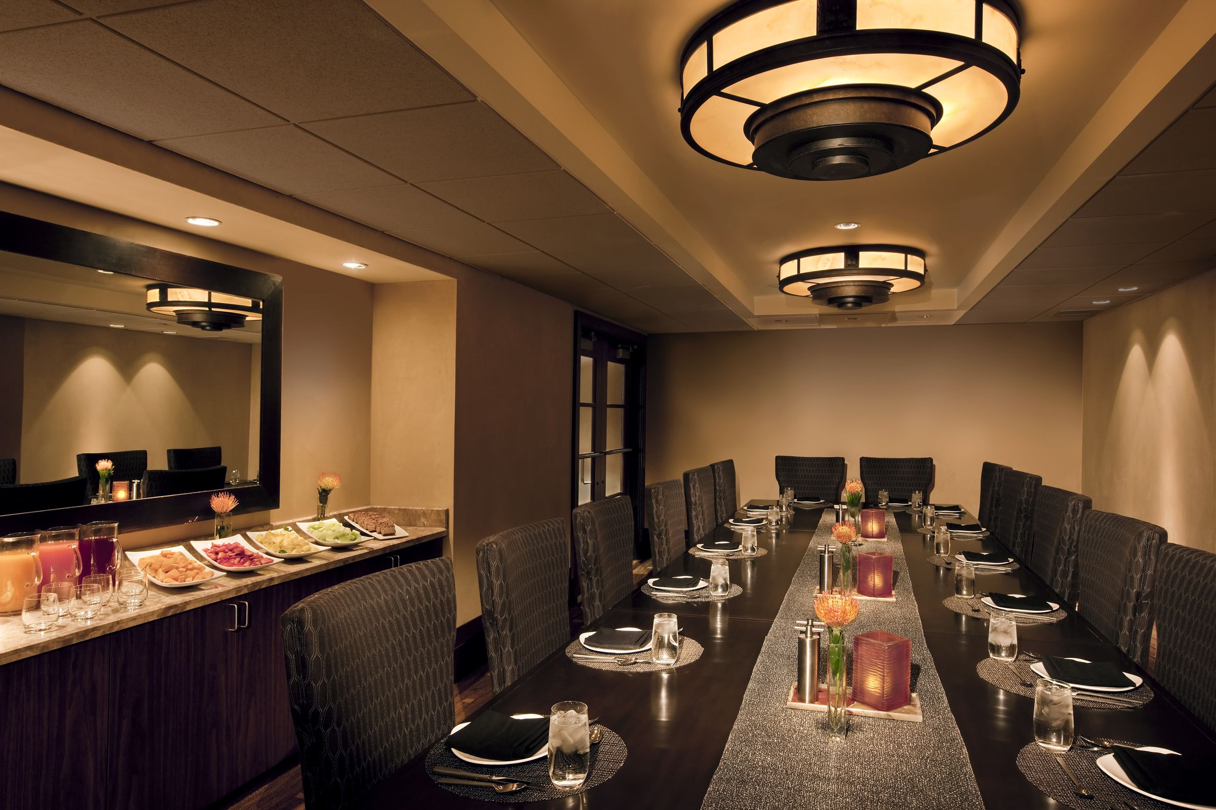 The Carillon Has Several Private Dining Rooms For Intimate Parties.
