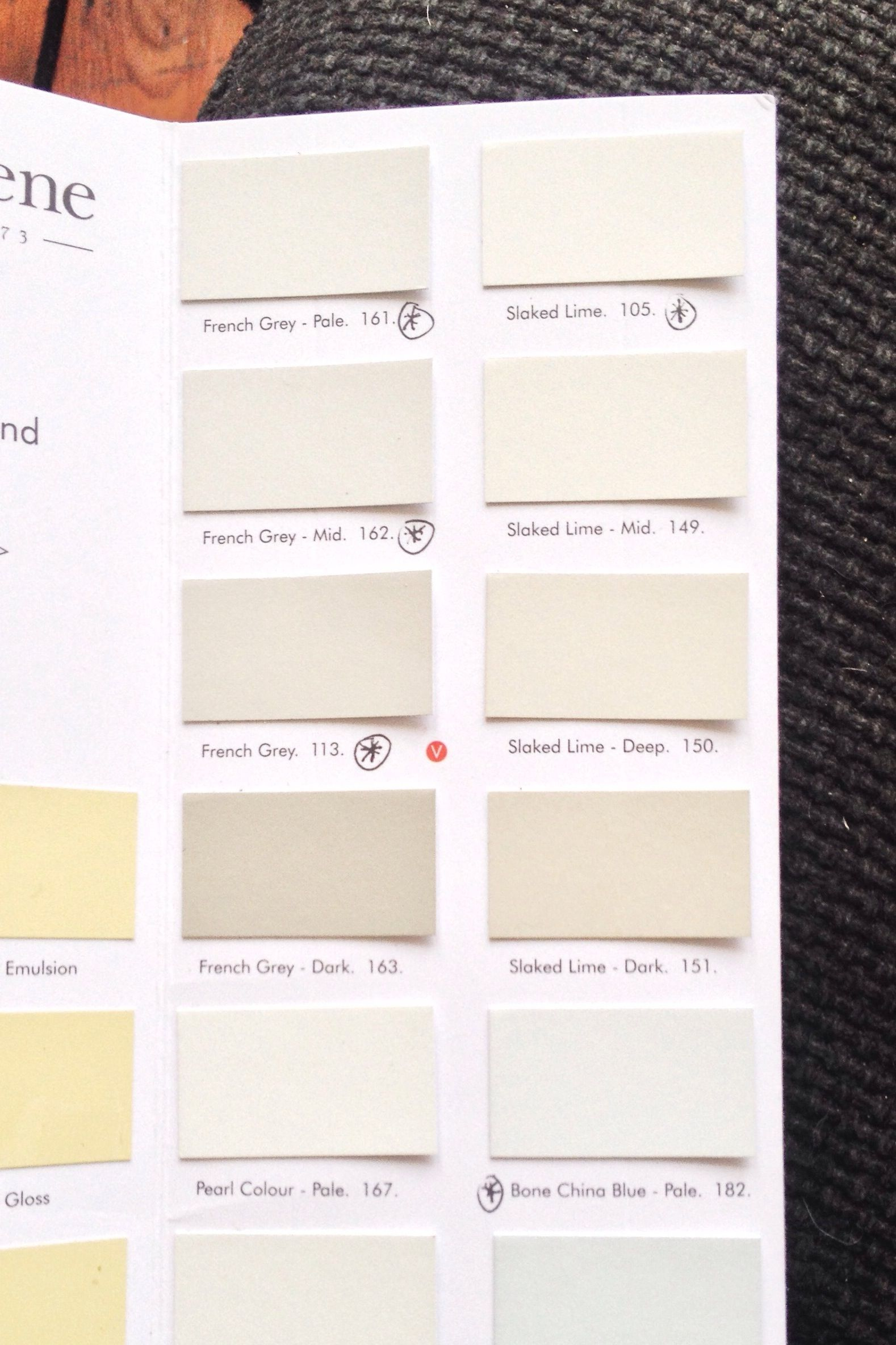 Paint Colour Planning Little Greene Paint Slaked Lime And French Grey Blank Walls