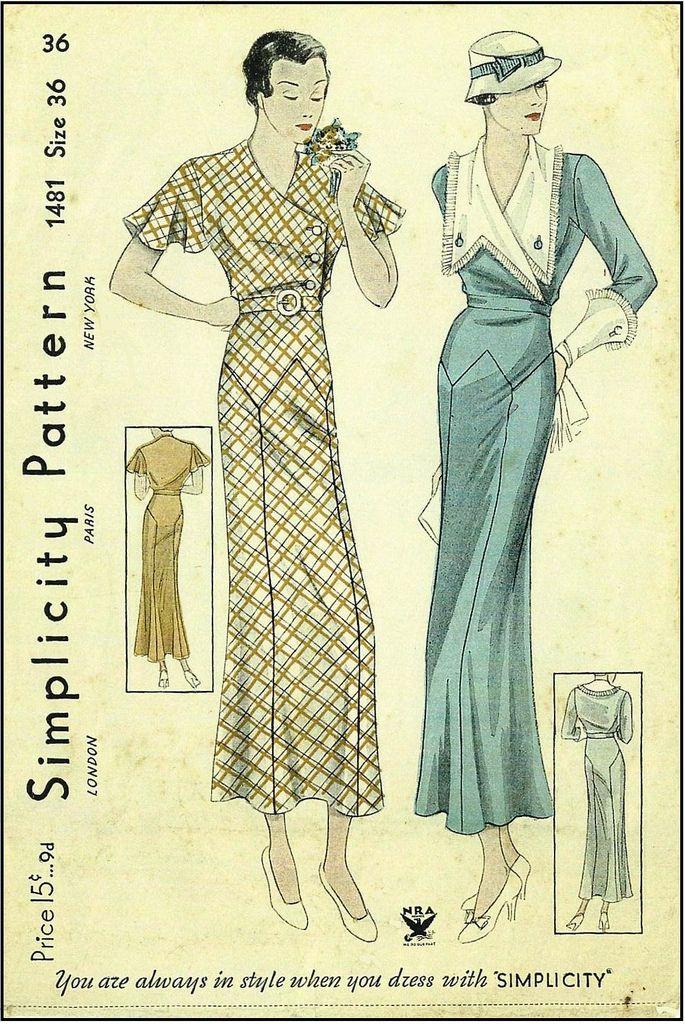 Flickr | 1930-1960 Vintage Schnitte | Pinterest | 1930er, 1960er und ...