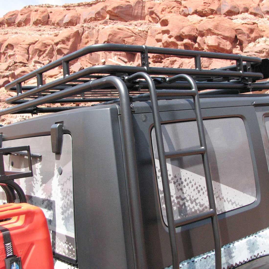 Adventure Rack Basket, JK 4Door Roof rack, Jeep, Rack