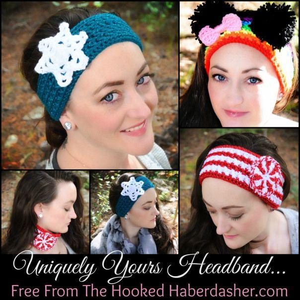 Free Pattern ~ Easy Crochet Headband/Earwarmer/Neckwarmer | the hooked haberdasher