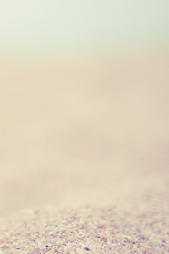 Pure Clear Sand Beach Seasie Bokeh #iPhone #4s #wallpaper