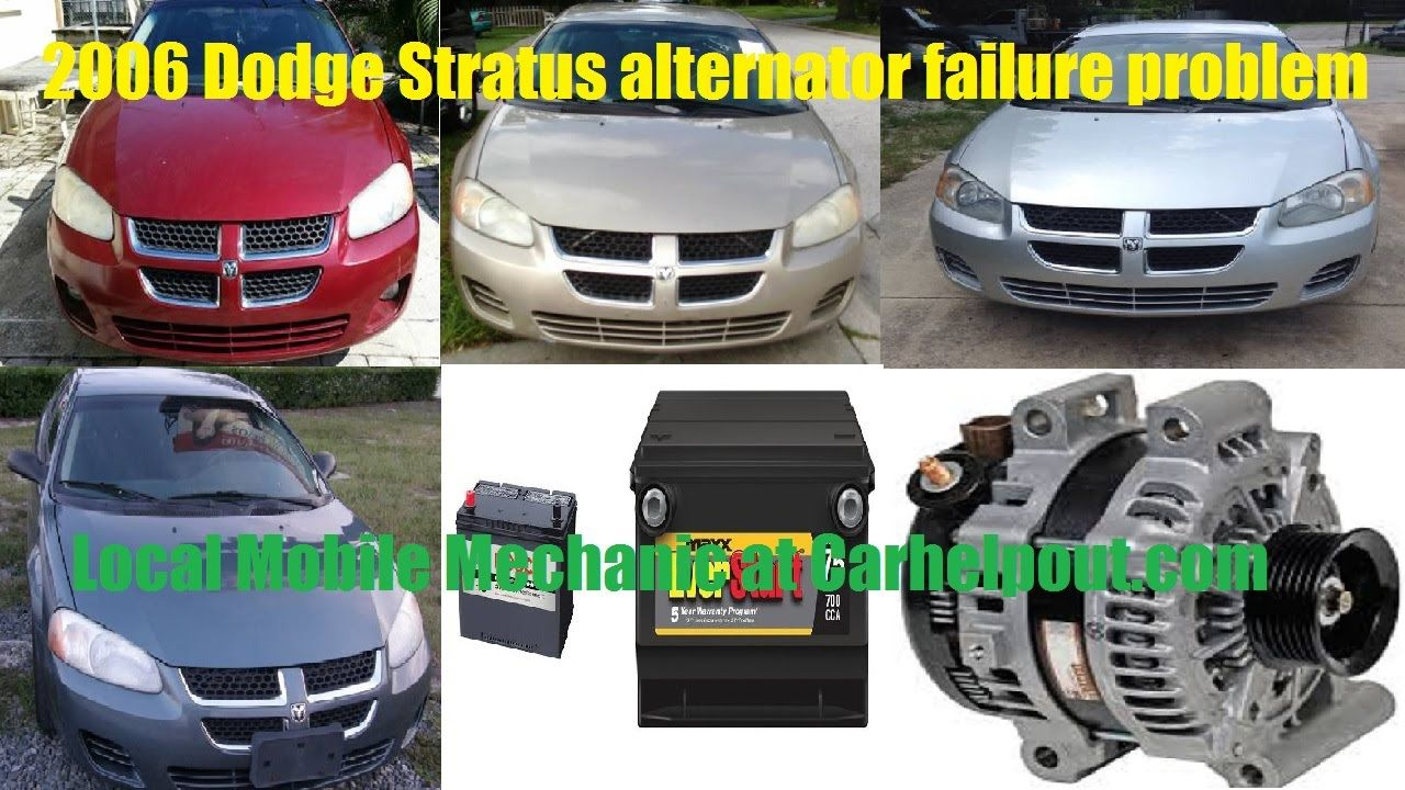 Problem With 2006 Dodge Stratus Starter Failure Issues Make It Not Starting Check Out Others Video Tutorial Guide On How T Mobile Mechanic Dodge Stratus Dodge