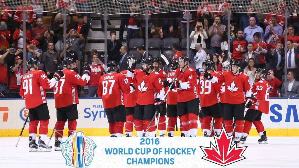 TEAM CANADA ARE WORLD CUP OF HOCKEY CHAMPIONS! WCH2016