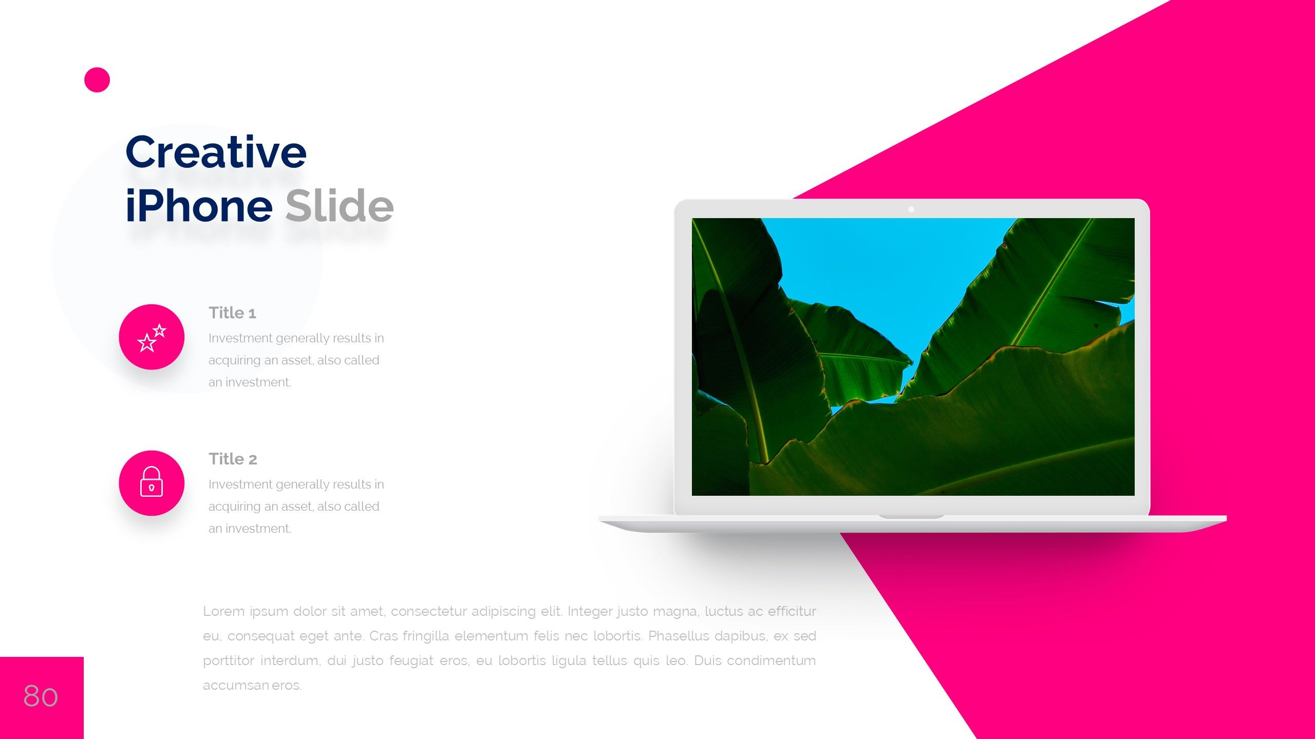 Puls 2 Powerpoint Presentation Template #Powerpoint, #Puls