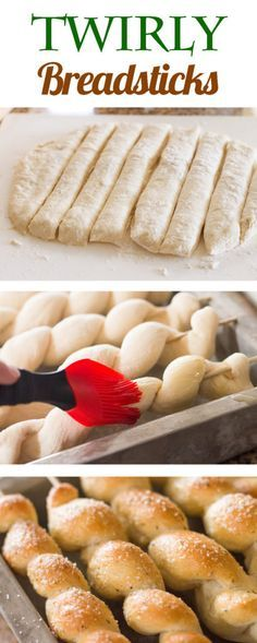 Twirly breadsticks recipe dinners and recipes recipes forumfinder Choice Image