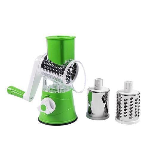Multifunctional Vegetable Cutter & Slicer - Green