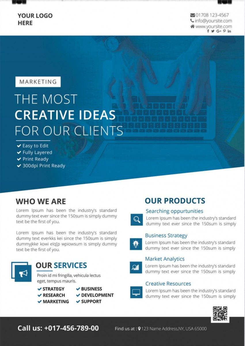creative business psd flyer template flyer creative business psd flyer template
