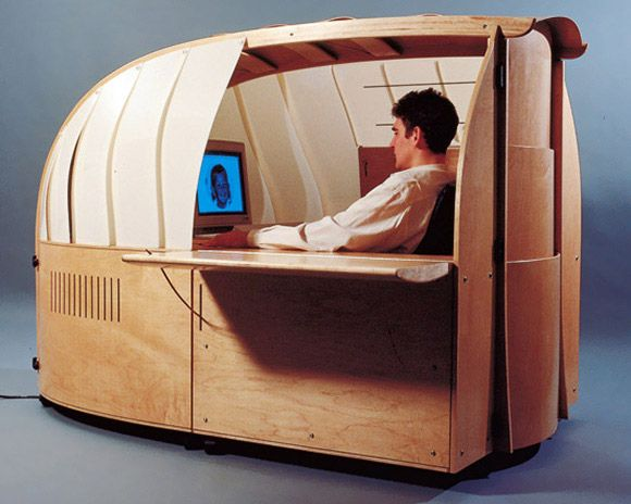 How small do you want your cublcle? A Cockpit Pod