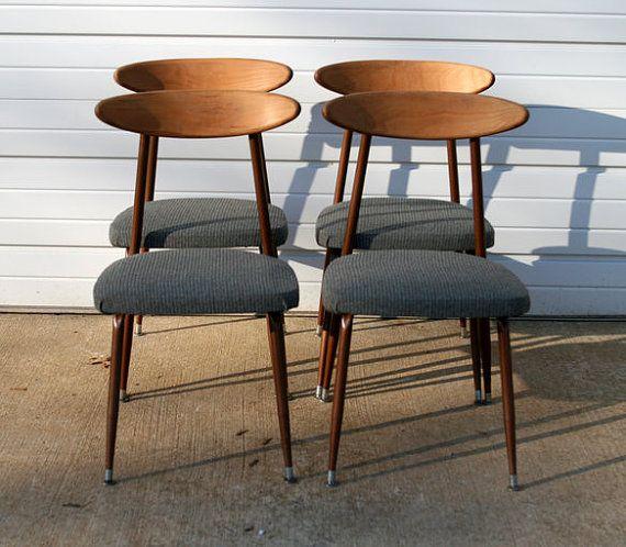 Mid Century Modern Viko Baumritter Dining Chairs | VINTAGE ...