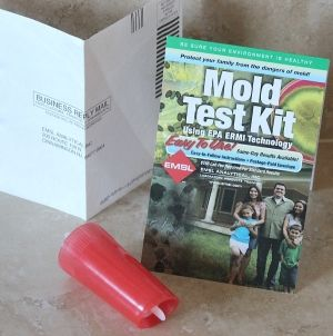 ERMI Mold Test Kit via EMSL Analytical | Health - mostly