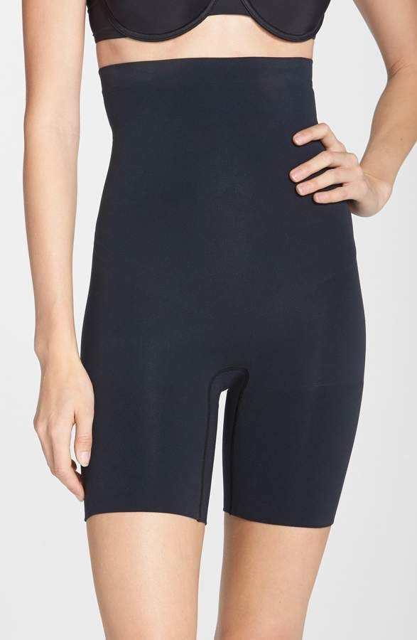 c0949cb9aa7 Plus Size Women s Spanx Higher Power Mid-Thigh Shaping Shorts