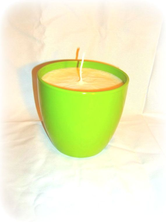 huge Jasmine and Rose scented soy wax candle