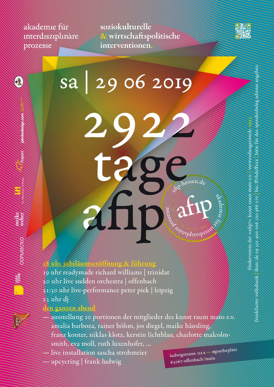 2922 Tagfe Afip Offenbach Plakat Politik Spenden