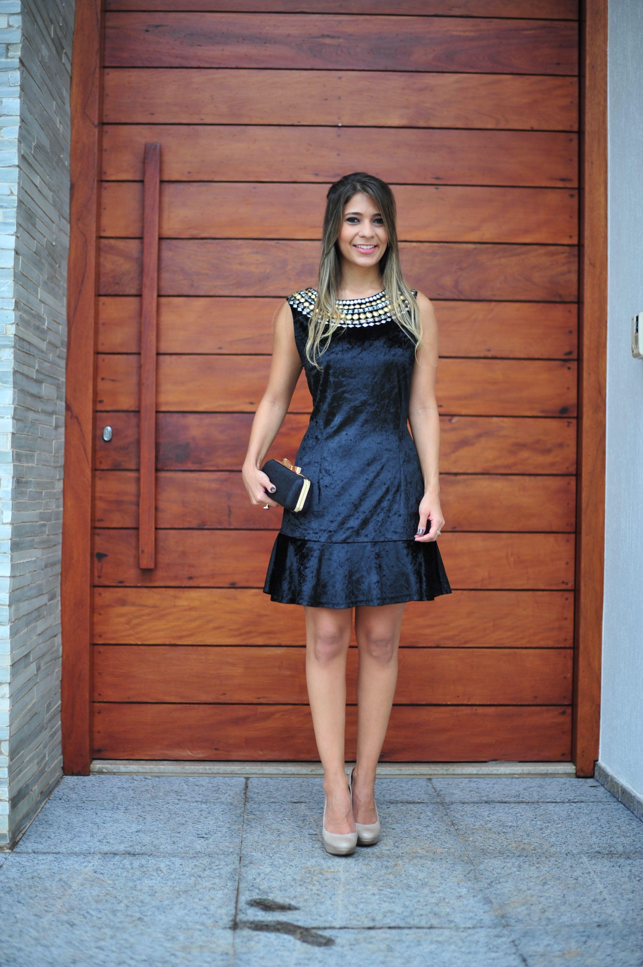 Vestido social para festa de casamento