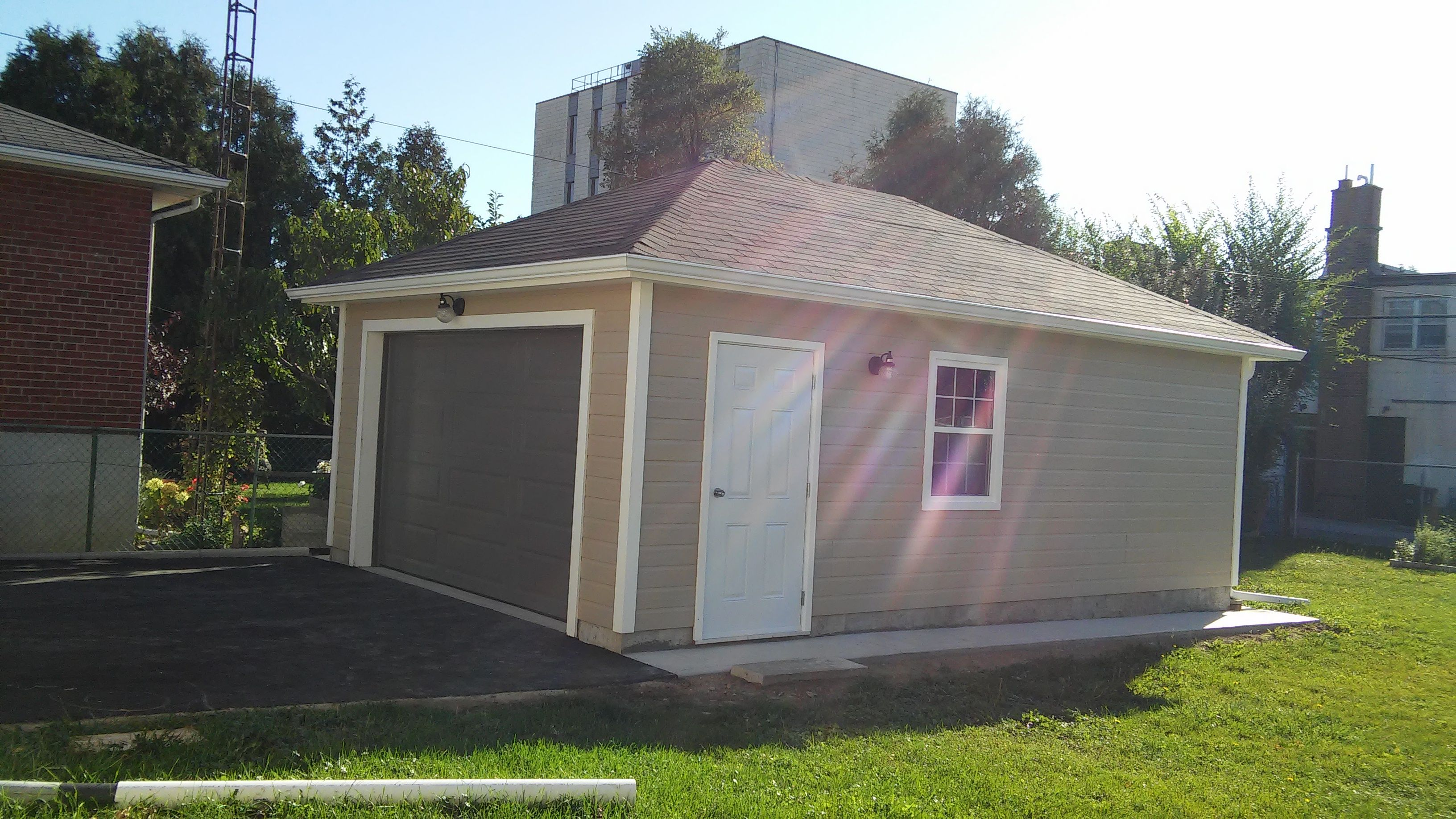 16 X 24 Archer Garage In North York Ontario Garage Plans Building Design Building Plans