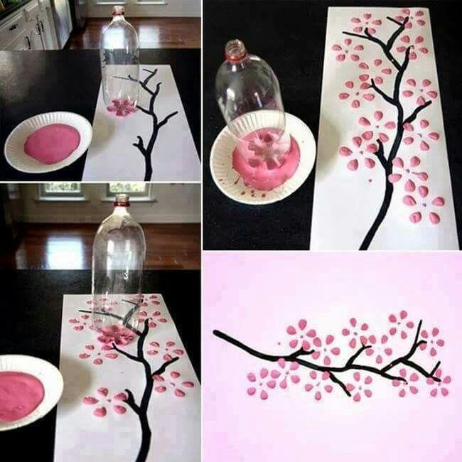 Artesanato Jardim Da Estrela ~ 25+ melhores ideias de Artesanatos com garrafas pet no Pinterest Reciclagem garrafa pet