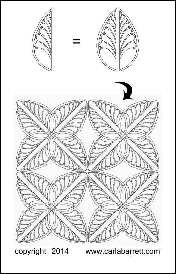 Creating quilting designs with ArtStitch software by Carla Barrett ... : longarm quilting software - Adamdwight.com