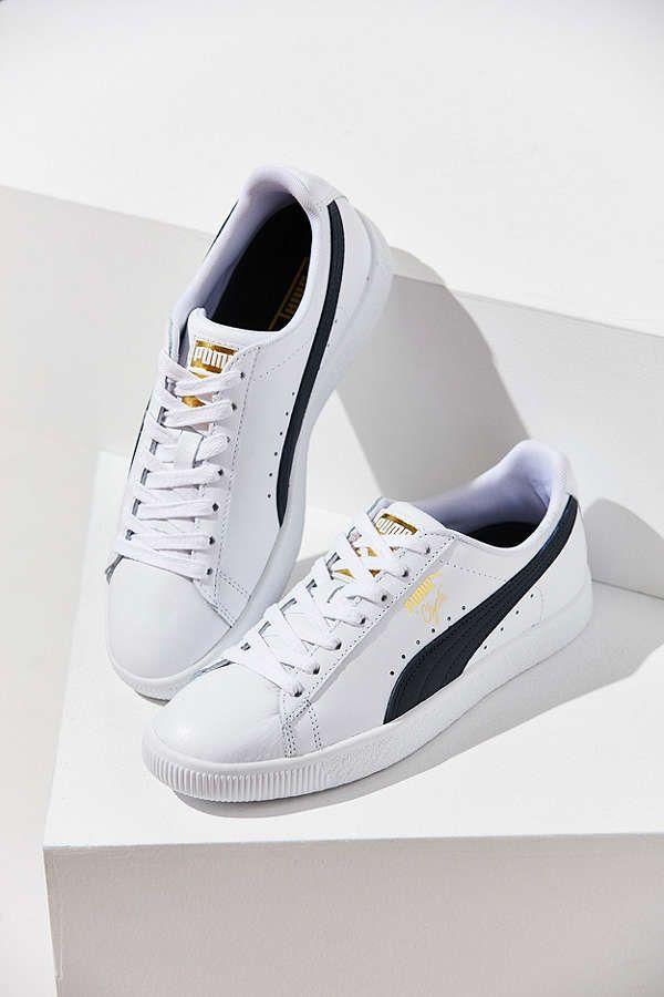 Slide View  1  Puma Clyde Core Foil Sneaker  6f1593834