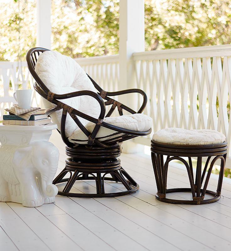 Facing The Sunset, Facing The TV, Facing A Good Book, Facing A Friendu2014Pier Swivel  Rocker Is Relaxing In Any Direction. And The Natural Rattan Design ...