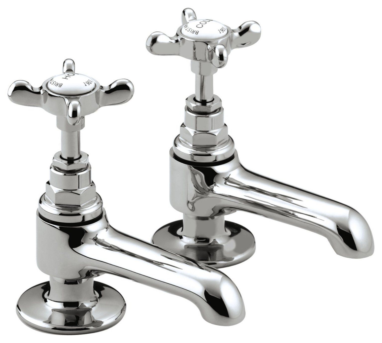 Buy Bristan 1901 Basin Taps - Chrome at Argos.co.uk - Your Online ...