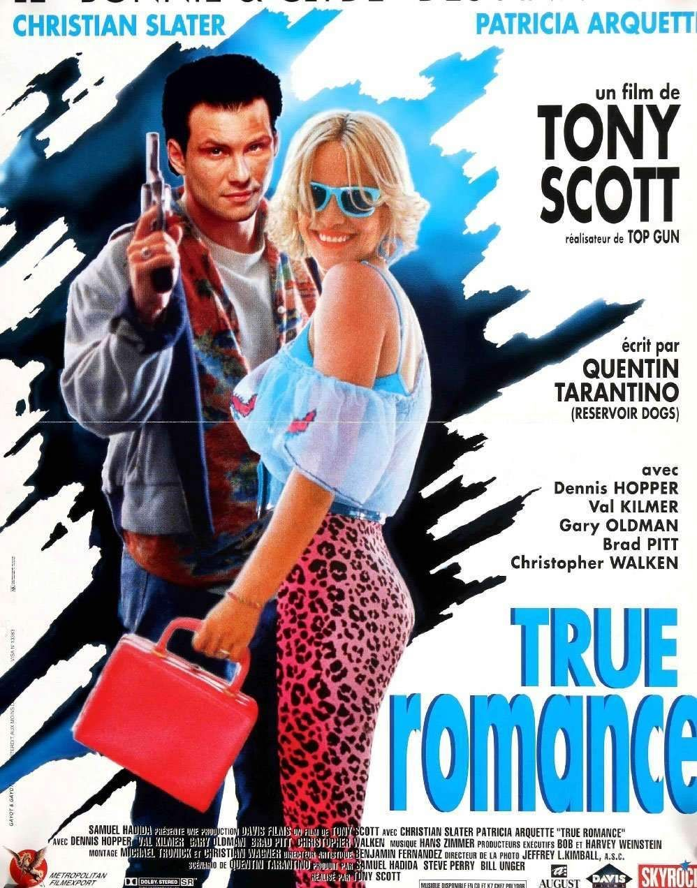 True Romance (1993) (With images) Romance movie poster