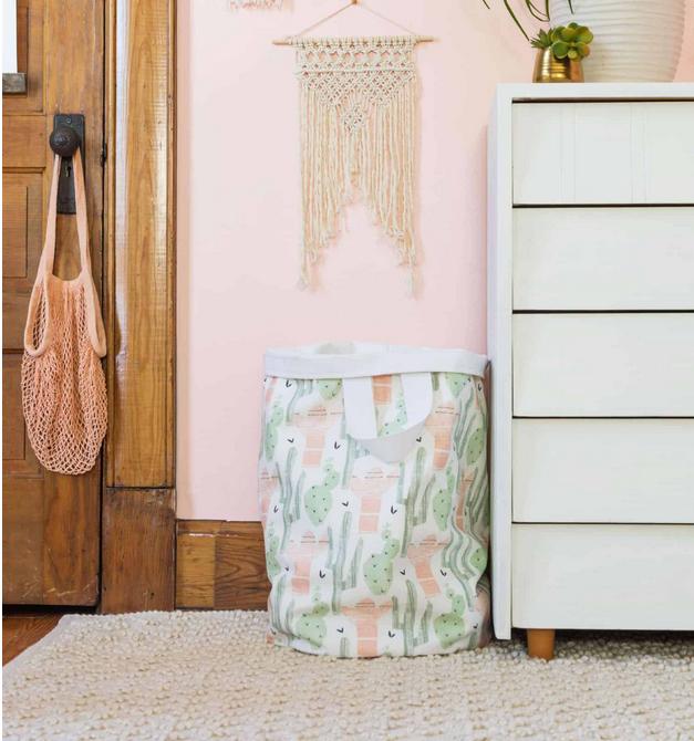 Cute Canvas Laundry Basket Tutorial Laundry Basket Laundry